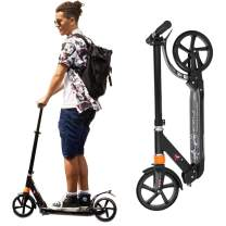 Adjustable Scooters for Kids 8 Years and Up Kick Scooter for Teens with Dual Suspension System Scooter for Adults with 220 LBS Weight Capacity Light Weight Scooter for Boys Girls with 8-Inch Wheels