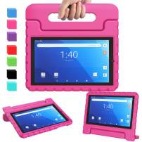 """AVAWO for Walmart Onn 8"""" Pro Kids Case 2020 ( 100003561 ), Light Weight Shock Proof Convertible Handle Stand Kids Friendly Case for Onn 8inch Pro Android Tablet ( JUST Fit Onn 8 Pro 2020), Pink"""