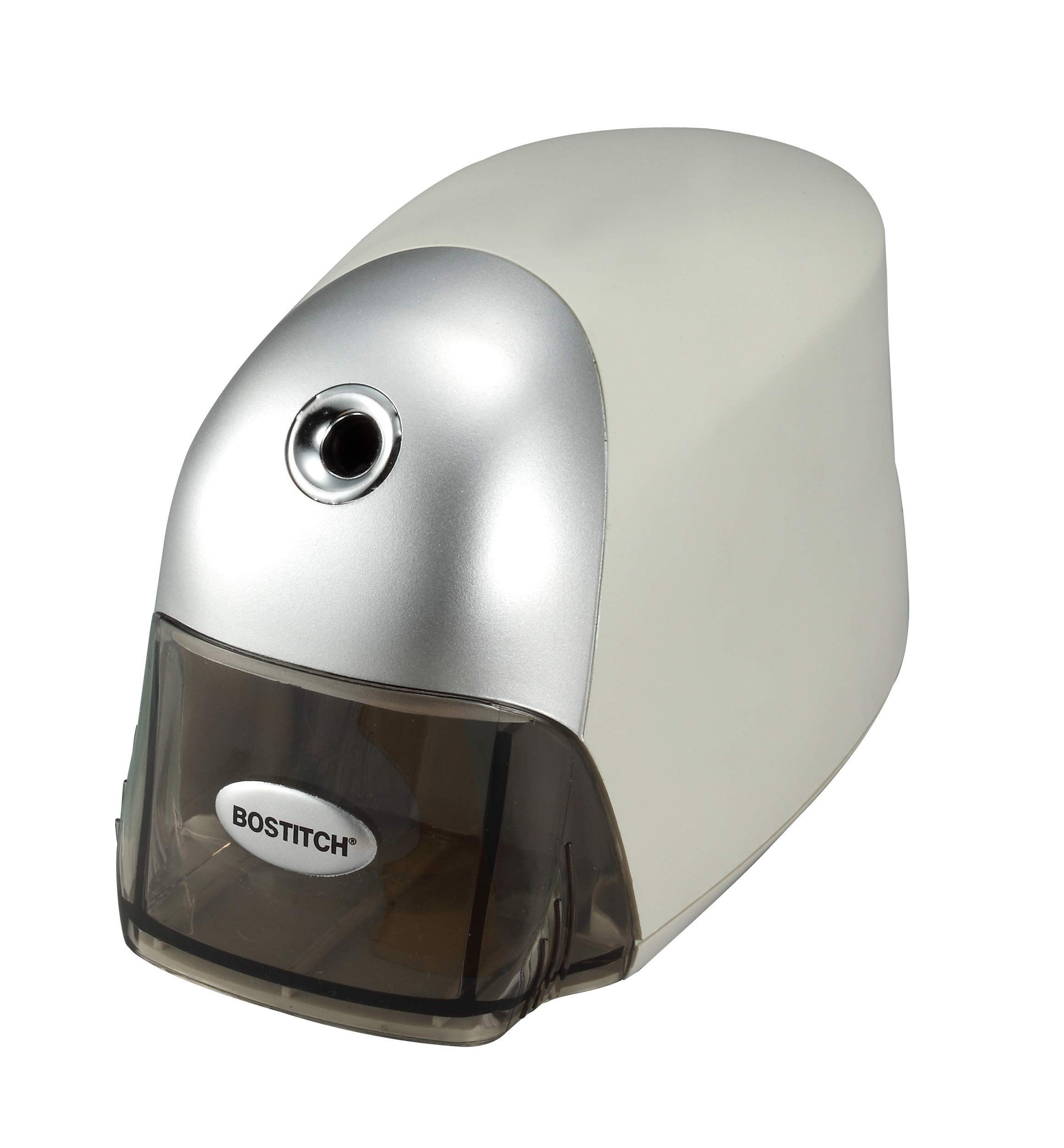 Bostitch EPS8HDGRY QuietSharp Executive Electric Pencil Sharpener, Gray