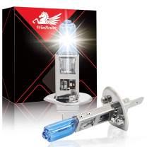 Win Power H1 55W High Brightness Halogen Headlight Bulb 5500K Warm White Fog Light Replacement, Pack of 2