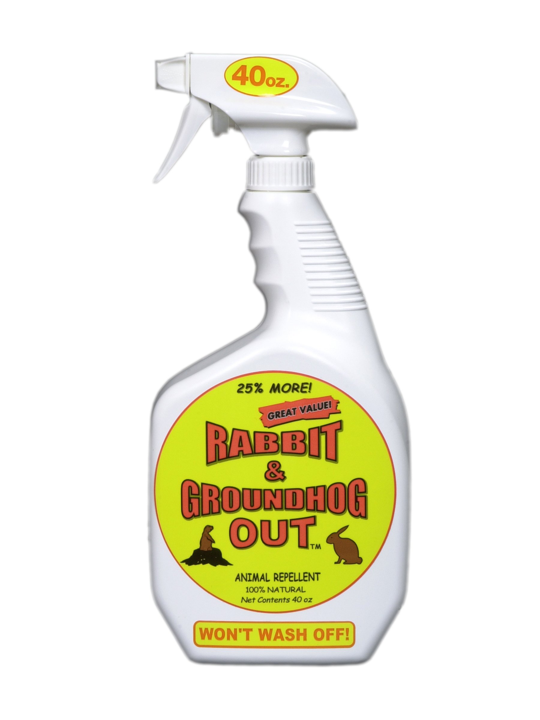 Rabbit & Groundhog Repellent: Rabbit Out 40oz Ready-to-Use