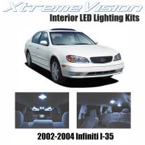 XtremeVision Interior LED for Infiniti I-35 2002-2004 (5 Pieces) Cool White Interior LED Kit + Installation Tool