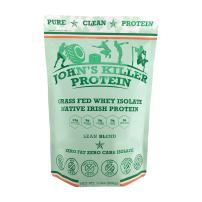 New - John's Killer Protein - Lean Blend. Fat Free, carb Free, Grass fed whey Isolate. Non-GMO, Soy Free, Gluten Free. Unsweetened, unflavored Protein with Zero additives or fillers.