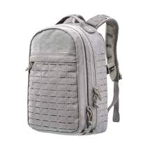 YAKEDA Tactical Backpack for Men Army Military Molle Backpack 35L