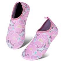 IceUnicorn Toddler Water Shoes Kids Quick Dry Water Swim Socks Boys Girls Non Slip Aqua Socks for Beach Swim Pool