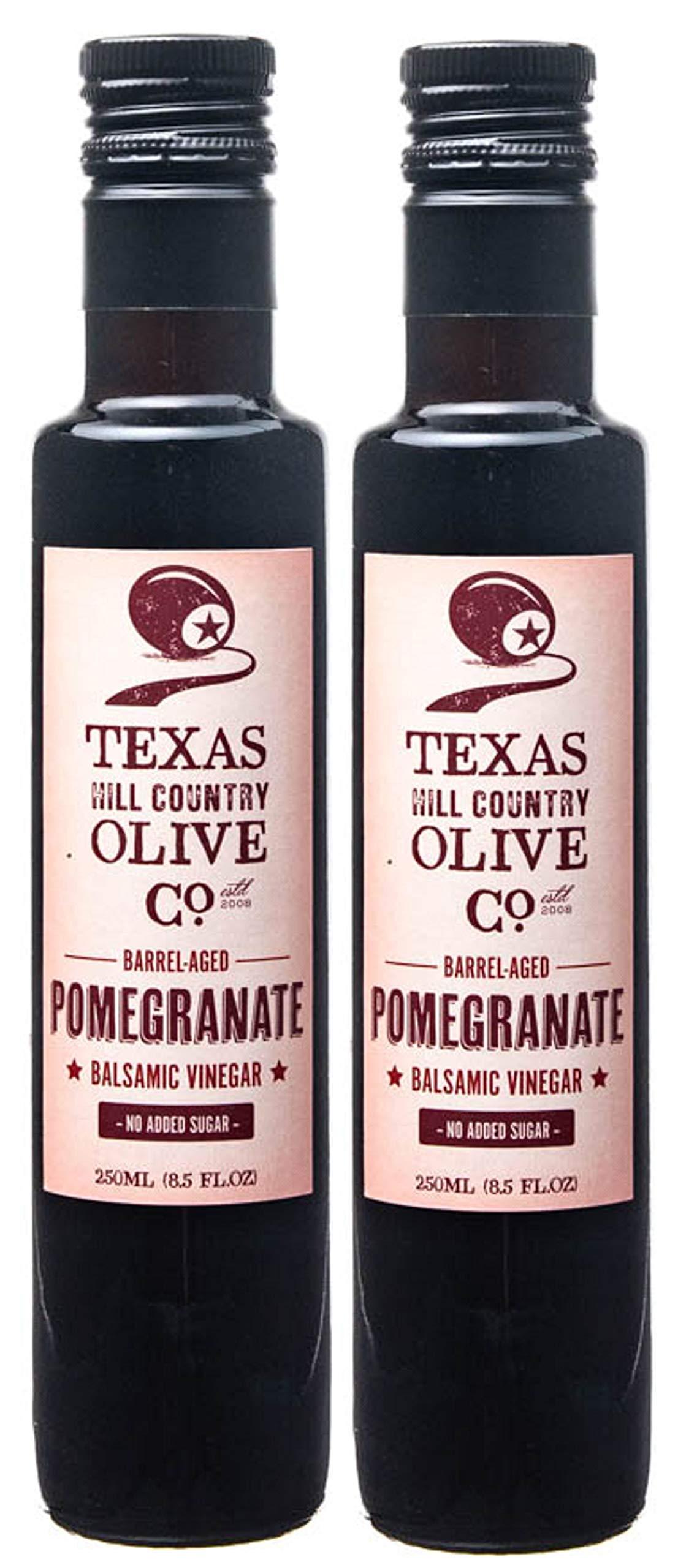 Terra Verde Balsamic Vinegar (Pomegranate Balsamic, 250ml (2 Pack))