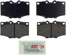 Bosch BE137 Blue Disc Brake Pad Set for Toyota: 1984-88 4Runner, 1976-90 Land Cruiser, 1979-88 Pickup - FRONT