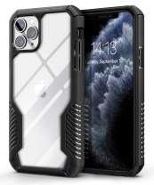 MOBOSI Vanguard Armor Designed for iPhone 11 Pro Case, Rugged Cell Phone Cases, Heavy Duty Military Grade Shockproof Drop Protection Cover for iPhone 11 Pro 5.8 Inch 2019, Matte Black