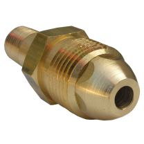 """LASCO 17-5307 Standard Propane Tailpiece with 1-1/8"""" Hex and Male Pol by Male Pipe Thread, Large/7/8 x 1/4"""