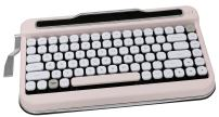 Penna Bluetooth Keyboard with Diamond Keycap(US Language) (Switch-Cherry Mx Brown, Baby Pink)