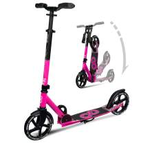 Crazy Skates Foldable Kick Scooters - City Series for Adults and Teens - Available in and Multiple Colors