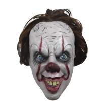 Demi Sharky Clown Mask Halloween Latex Funny Scary Mask for Performance Props Carnival Party Masks