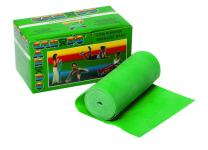 CanDo Low Powder Exercise Band, 6 yard Roll, Green: Medium