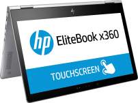 HP Elitebook X360 1030 G2, Windows 10, i7-7600U, 2.8 GHz, Intel HD Graphics 620, 512 GB, Silver (Renewed)