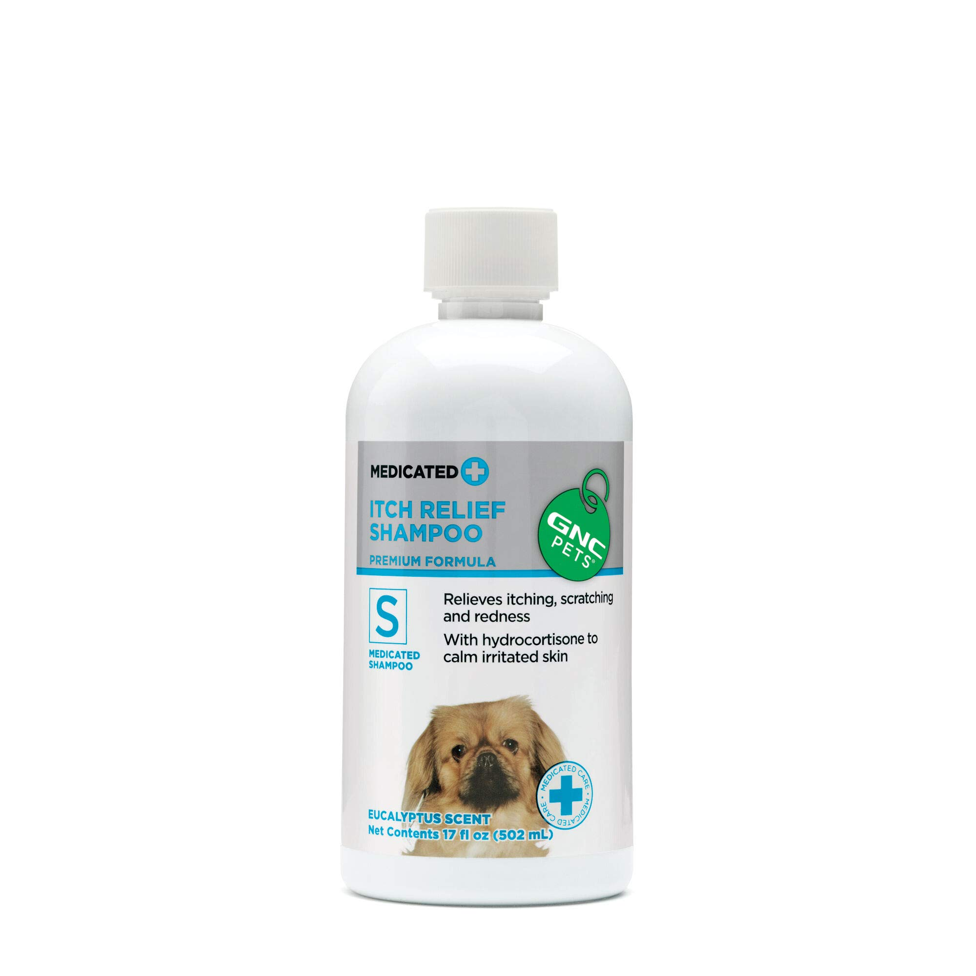 GNC Pets Medicated Shampoos and Sprays for Dogs   Dog Shampoos Available in Multiple Scents   Shampoo for Dogs, Great for All Dogs With Sensitive Skin, Calming and Soothing