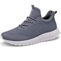 LANCROP Women's Running Shoes - Lightweight Athletic Slip on Walking Sneakers