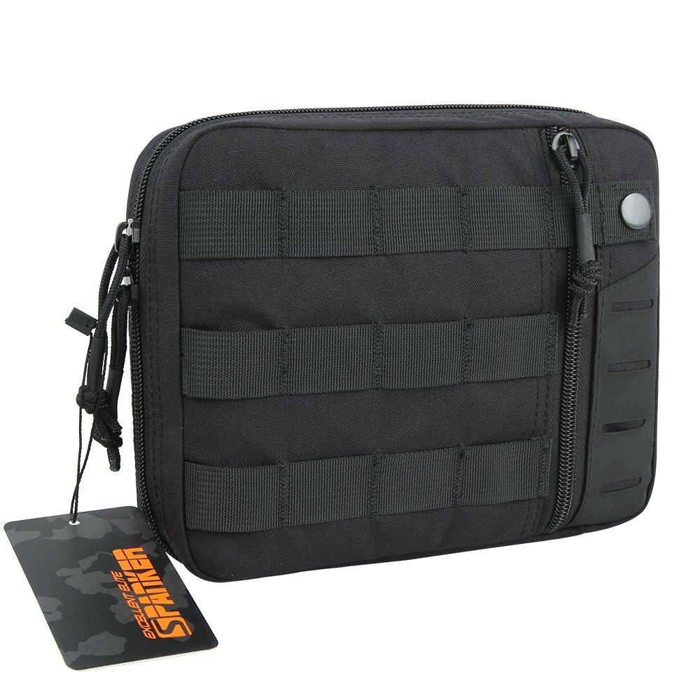 EXCELLENT ELITE SPANKER Molle Admin Pouch Tactical EDC Tool Pouch Military Nylon Holder Modular Utility Organizer Bag