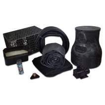 HALF OFF PONDS Savio Pond Free 4000 Waterfall Kit with MatrixBlox, 10' x 30' EPDM Liner and 4,000 GPH Pump - PMDSB2