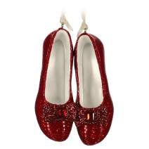 Hallmark Keepsake Christmas Ornament 2019 Year Dated The Wizard of Oz Ruby Slippers