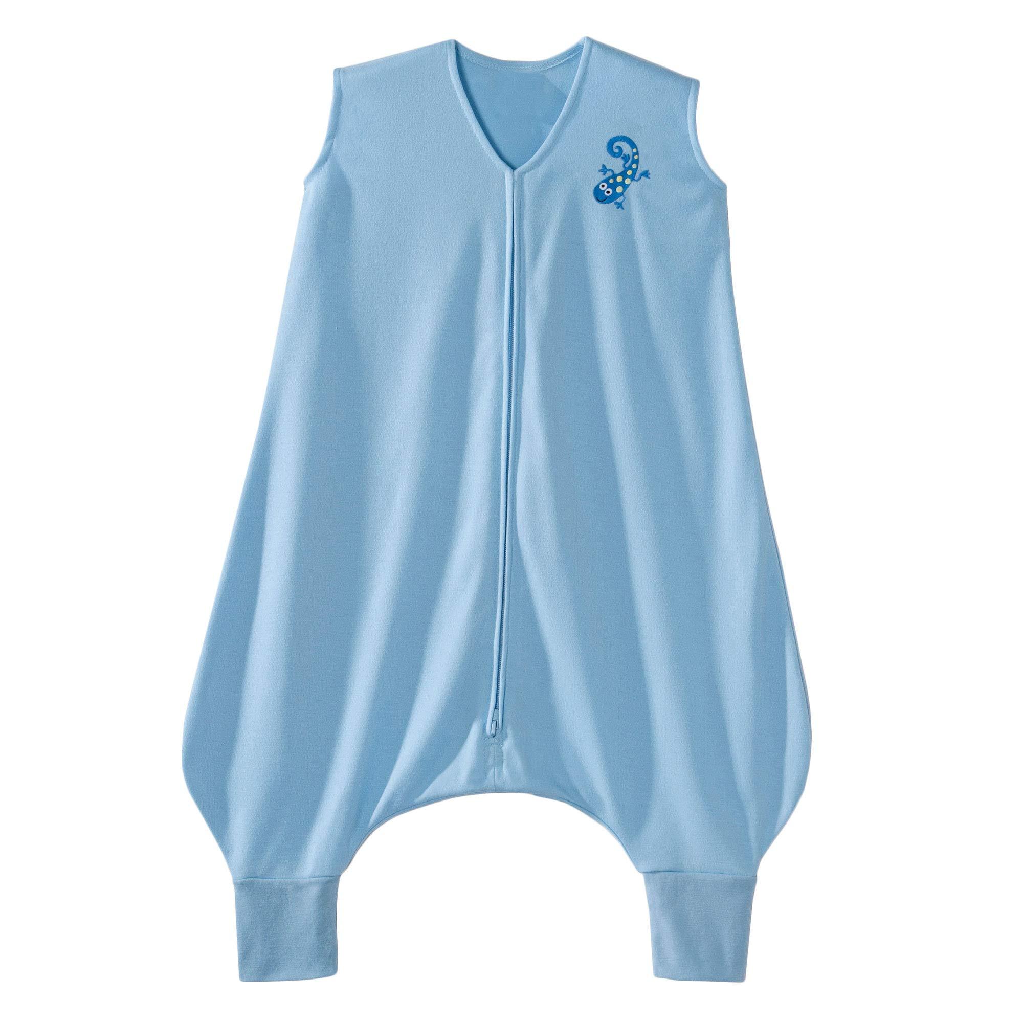 Halo Blue Early Walker Sleepsack Wearable Blanket, Poly Knit, Large
