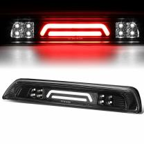 Black Housing 3D LED Bar 3rd Third Tail Brake Light Rear Cargo Lamp Replacement for Toyota Tundra 07-18