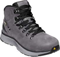 KEEN Utility - Men's Manchester 6'' WP (Aluminum Toe) Waterproof Work Boot for Maintenance, Transportation, Warehouse and Distribution