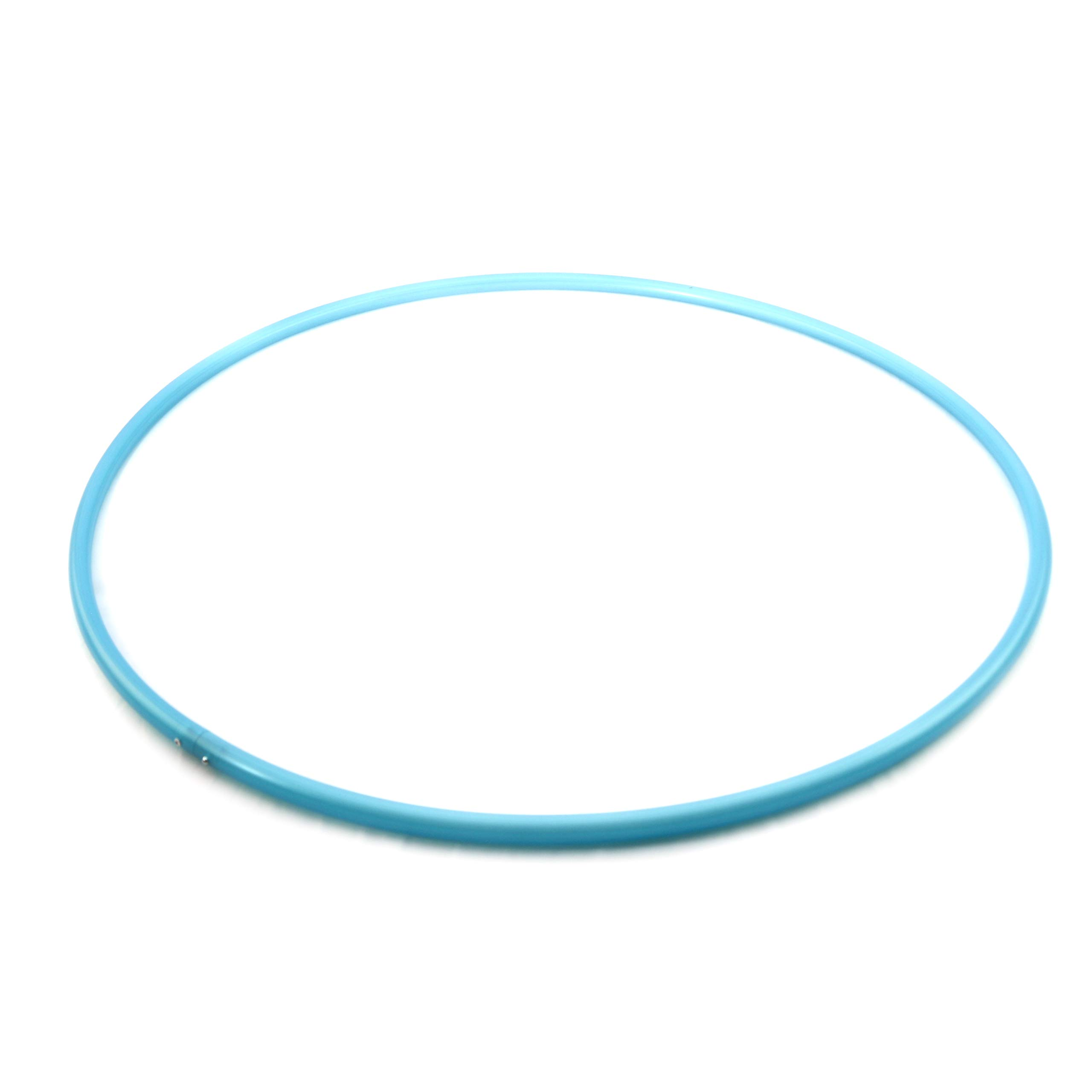 "The Spinsterz Adult Polypro Hula Hoop. Performance and Dance Hoop. (Blue Glitter, 28"" x 5/8"" OD (Advanced))"