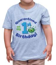 7 ate 9 Apparel Quarantined On My 1st Birthday Birthday Outfit