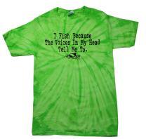 Funny Fishing T-Shirt I Fish Because