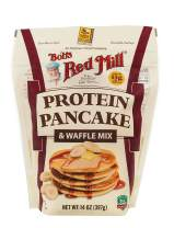 Bob's Red Mill Resealable Protein Pancake & Waffle Mix, 14 Ounce (Pack of 4)