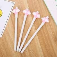 WIN-MARKET Animal Love Wings Gel Ink Pen Cute Kawaii Black Writing Pens Ballpoint Black Ink Gel Pen Party Gift Gel Ink Pens Funny School Stationery Office Supplies(6PCS)