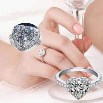 Women's RingsStackable Rings Set for Women Teen GirlsDiamond Microinlaid Zircon Ring Jewelry for Mother's Day