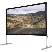 """Safstar Portable Outdoor Movie Theater Fast Folding Projector Screen with Stand Legs and Carry Bag (120"""" / 52"""" x 105"""")"""