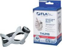 FLA 3D Adjustable Right Thumb Brace, Medium - Grey