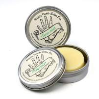 Mint Citrus with Mandarin Happy Hands Natural Beeswax & Shea Butter Solid Lotion Bar Pair. Keeps Skin Moisturized & Protected, Great Idea for Women & Men, Compact & Concentrated