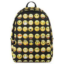 Hynes Eagle Printed Emoji Backpack Black