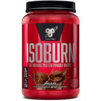 BSN ISOBURN, Lean Whey Protein Powder, Fat Burner for Weight Loss with L-carnitine - Chocolate Milkshake, (20 Servings)