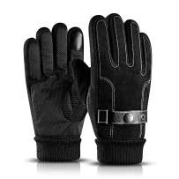 MUCO Men Women Winter Warm Glove Touch Screen Gloves Driving Gloves Cycling Gloves for Men and Women