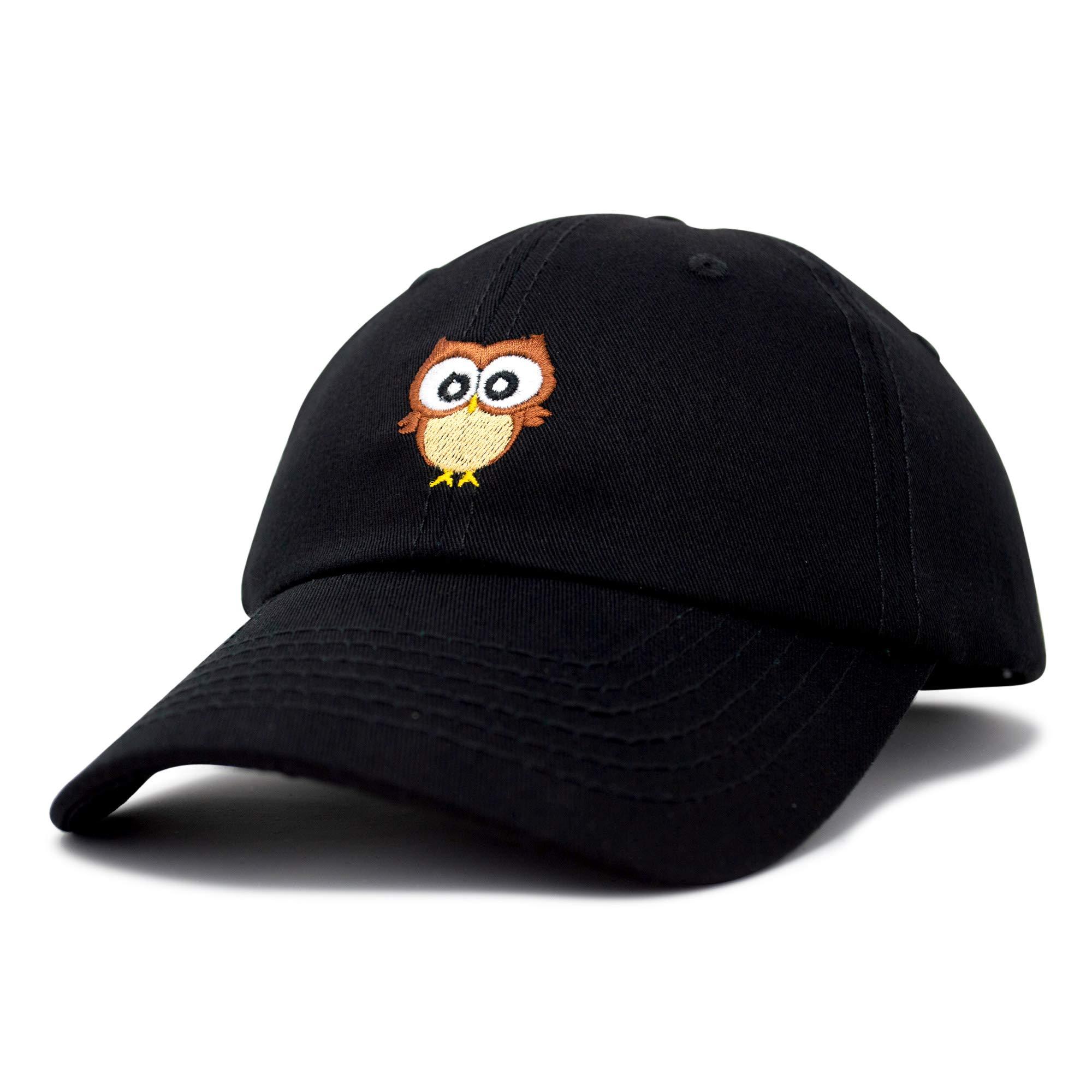Cute Owl Hat Cotton Baseball Cap