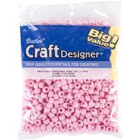 Darice 06121-4013 Pony Beads, Light Pink
