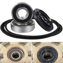 Front Load Washer Tub Bearings & Seal Kit for LG & Kenmore etc Replace 4036ER2004A 4280FR4048L 4280FR4048E 4036ER4001B Rotate Quiet Deep Groove Ball Bearings