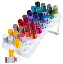 ArtBin Storage Tray-Organizes up to 32 Bottles of Paint Dye Ink Glitter, White