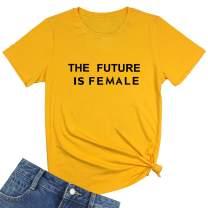 BLACKMYTH Women's Cute Graphic T Shirts Funny Tops Short Sleeve Tees