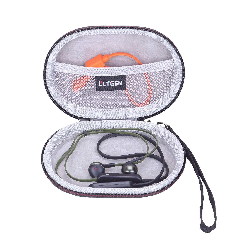LTGEM EVA Hard Case for JBL JBLT205BTBLUAM in-Ear, Wireless Bluetooth Headphone