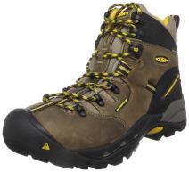"""KEEN Utility mens Pittsburgh 6"""" Steel Toe Work Boot, Brown/Slate Black, 7D"""