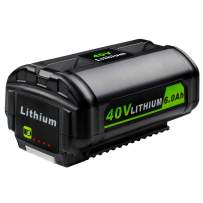 Girapow 40V 6.0Ah OP4050A Lithium Ion Battery Replace for Ryobi 40 Volt OP4026 OP4026A OP4030 OP4040 OP4050 OP4060 OP40261 OP40301 OP40401 OP40501 OP40601 OP40602 Cordless Power Tool Batteries