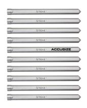 Accusize Industrial Tools Pilot Pin 5/16'' by 4'' 10 Pcs/Bag for Annular Cutter, Ibc0-0080x10