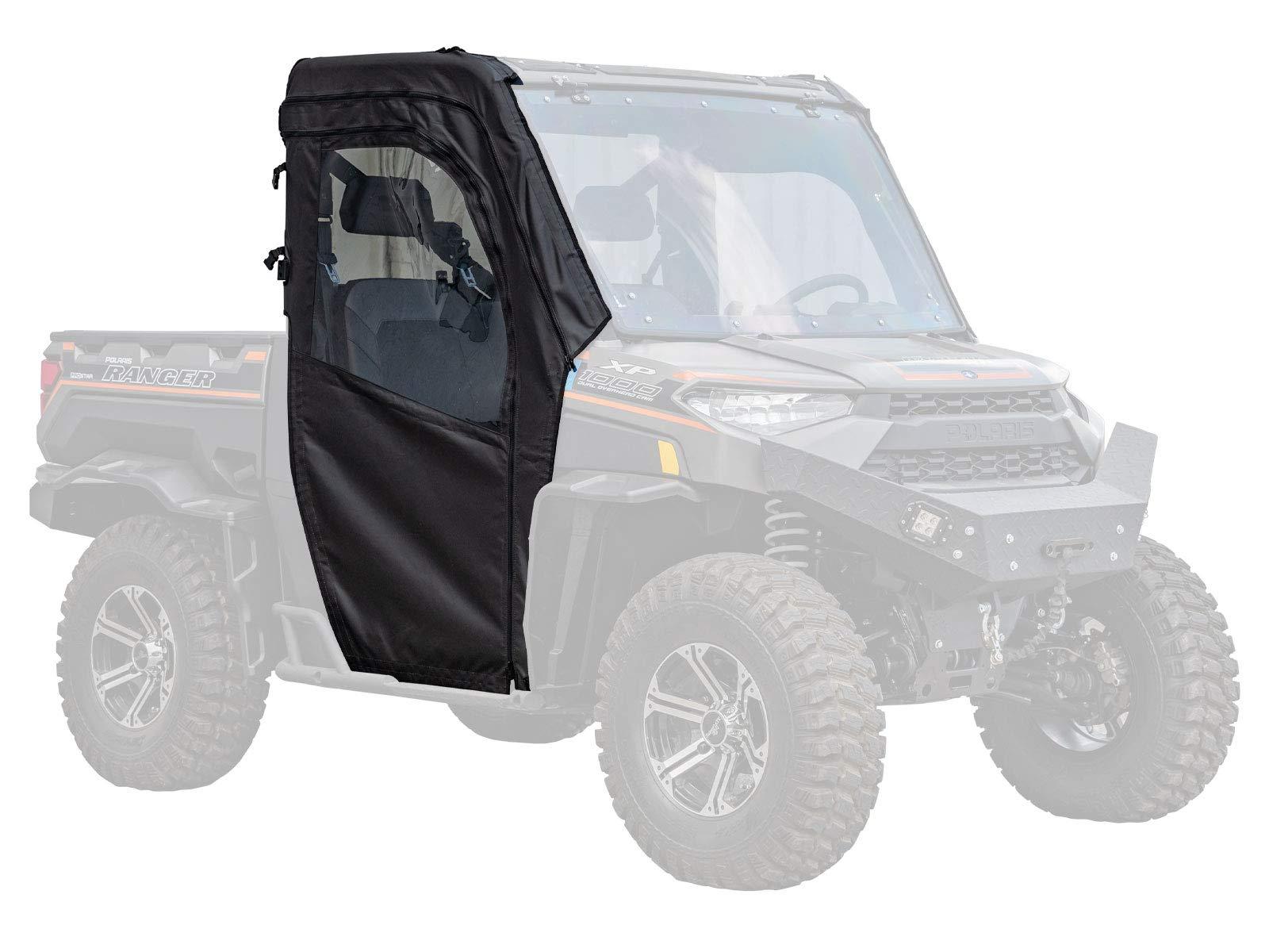 SuperATV Soft Cab Doors for Polaris Ranger XP 900 (2013+) - Pair of Front Doors