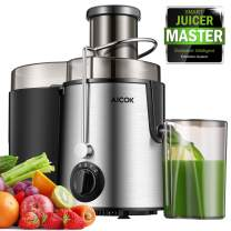 """Juicer Centrifugal Juicer Machine Wide 3"""" Feed Chute Juice Extractor Easy to Clean, Fruit Juicer with Pulse Function and Multi Speed control, Anti-drip , Stainless Steel BPA-Free"""