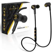 Back Bay - Wireless Bluetooth Earbuds. Sweatproof Earphones with Hi-Fi Stereo Sound, 8-Hour Battery, Microphone, Magnet, in-Ear Headhones and Carrying Bag - Fast Pairing